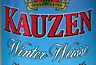 Kauzen Winter-Weisse (Etikettdetail)