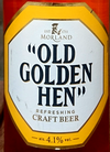 Morland Old Golden Hen (Etikettdetail)