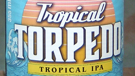 Sierra Nevada Tropical Torpedo (Etikettdetail)