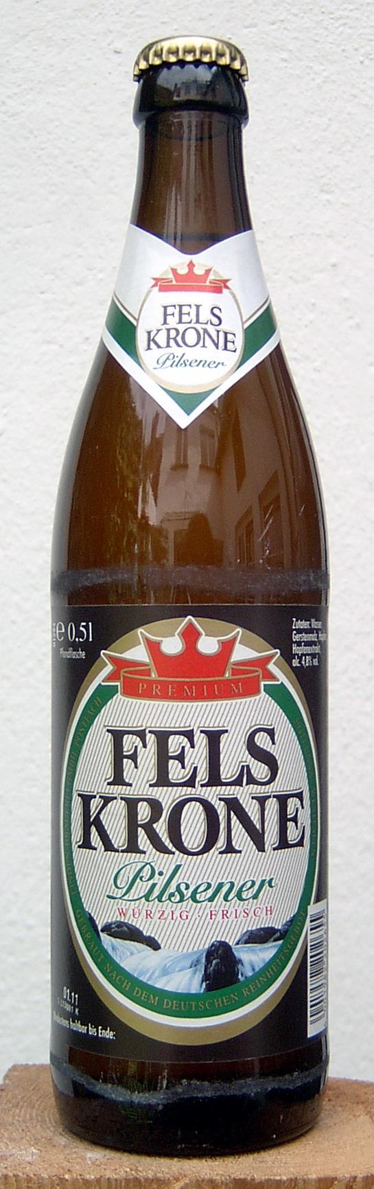 Bierverkostung.de - Felskrone Pilsener