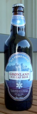 Grønland Ice Cap Beer Ice Fjord Lager