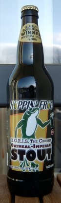 Hoppin' Frog B.O.R.I.S. The Crusher Oatmeal-Imperial Stout