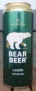 Harboe Bear Beer Lager