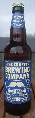 The Crafty Brewing Company Irish Lager